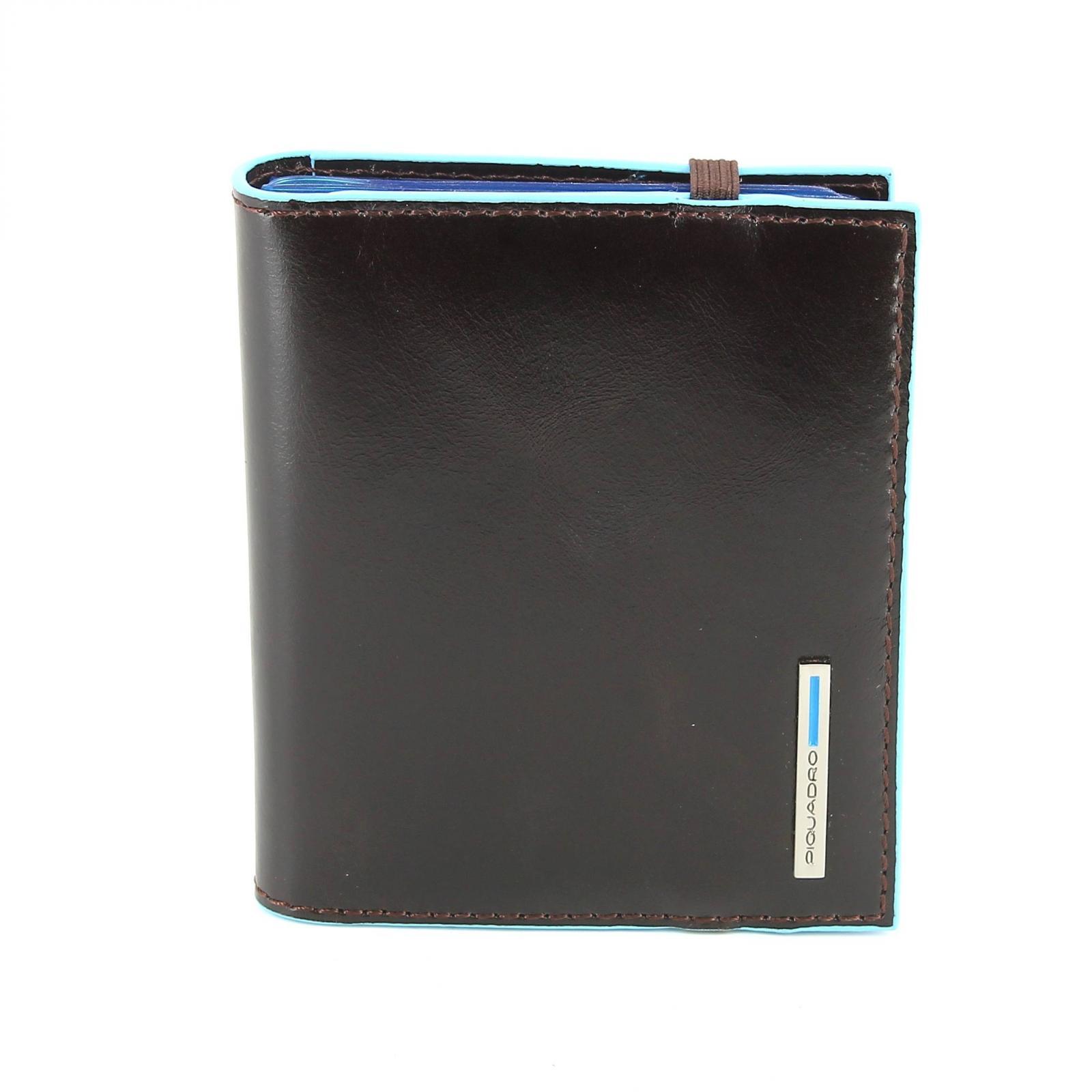 Business Card holder Blue Square B2