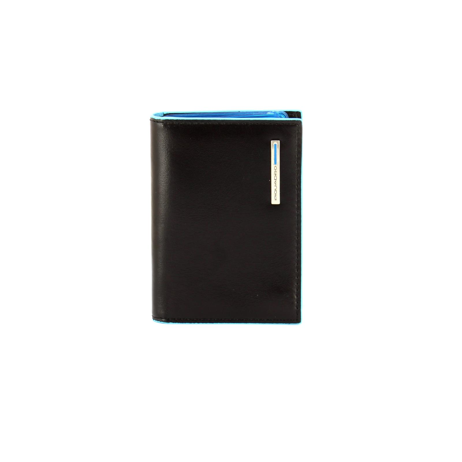 Credit Card Holder Blue Square