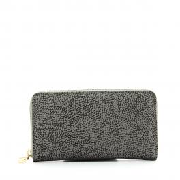 Wallet Jet Op Zip Around-GRIGIO/ARDESIA-UN