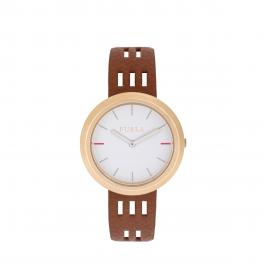 Capriccio Round Watch 34 mm-NOCCIOLA/b-UN