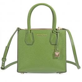 Mercer Messenger Leather Bag-TRUE/GREEN-UN
