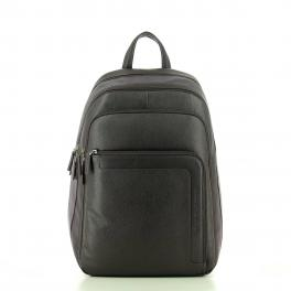 Laptop Backpack in Leather-MA-UN